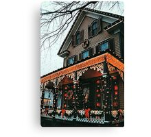New Jersey Holiday Cheer Canvas Print