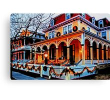 Cape May Christmas Canvas Print