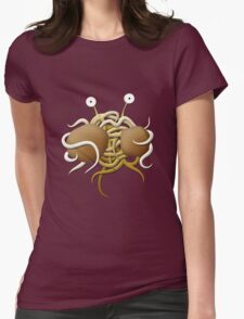 Flying spaghetti monster Womens Fitted T-Shirt