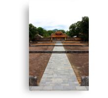 The Way to Afterlife - Hue, Vietnam. Canvas Print