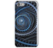 Blue Circular iPhone Case/Skin