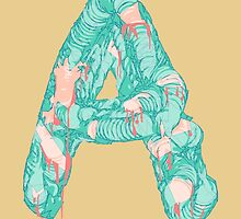Alphabet A by chyworks