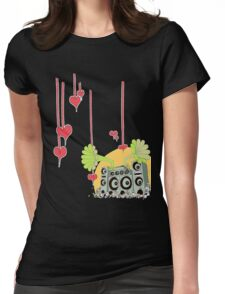 sound cloud Womens Fitted T-Shirt
