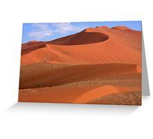 Desert Curves Greeting Card