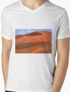 Desert Curves Mens V-Neck T-Shirt