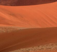 Desert Curves Sticker