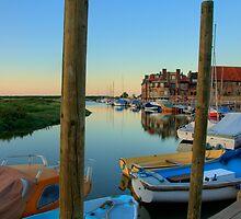 Blakeney Harbour by Charles Howarth