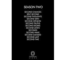 Continuum - Season Two Episodes Photographic Print