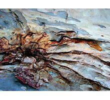 Tidal waves on rocks.......... Photographic Print