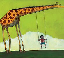 Giraffe Swing by David Barneda
