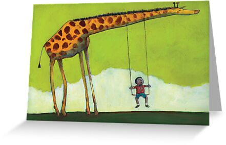 Giraffe Swing by David Barneda