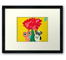 Sunshine Love Framed Print