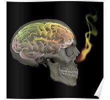 Rasta Brain Poster