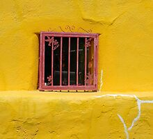Small Red Window by Kathleen Brant