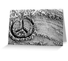 Another Peace To The Puzzle. Greeting Card