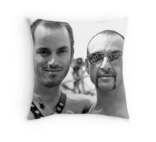 Think Kink Throw Pillow