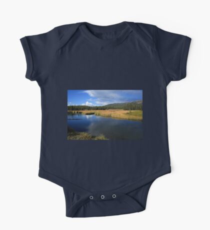 Tranquil Yellowstone One Piece - Short Sleeve