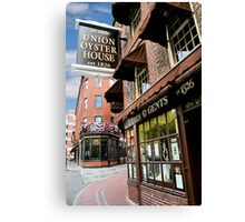 Ye olde Union Oyster House Canvas Print