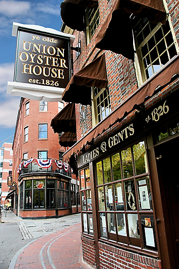 Ye olde Union Oyster House by DJ Florek