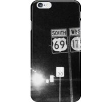 Road Tripping Southward Highway iPhone Case/Skin