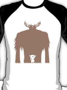 A Big Friend Of Mine - Light Brown T-Shirt