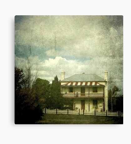 The Station Master's Cottage, Uralla, New South Wales Canvas Print