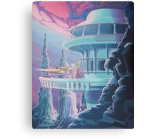 Red Moon Soiree Canvas Print