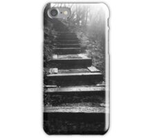 Wooded Stairway iPhone Case/Skin