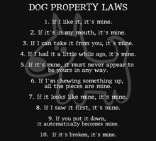 Dog Property Laws.. [rspca donation] T-Shirt