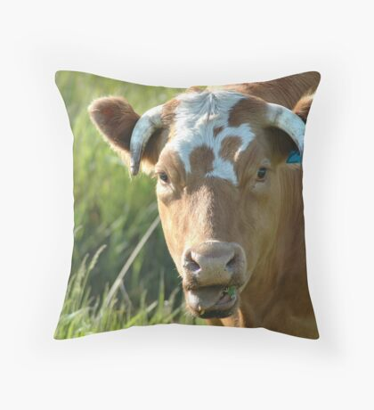 I hate vegetables. Throw Pillow