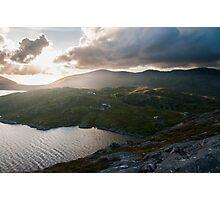 Hebridian Sunset Photographic Print