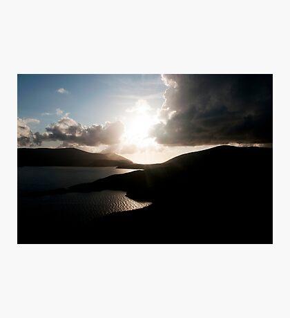 Hebridian Sunset #2 Photographic Print