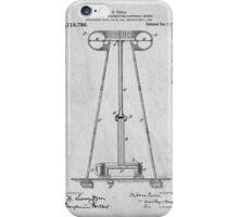 Tesla Patent Art iPhone Case/Skin