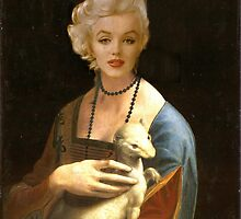 Marilyn with Ermine by Prussia