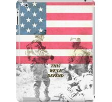 United States Army iPad Case/Skin