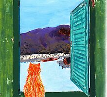 Window to The Past by Beth Mills