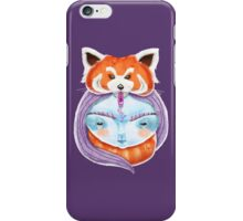 Huriyah & Red Panda iPhone Case/Skin