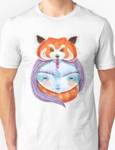 Huriyah & Red Panda Unisex T-Shirt