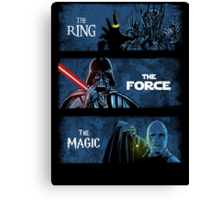The Ring. The Force. The Magic! Canvas Print