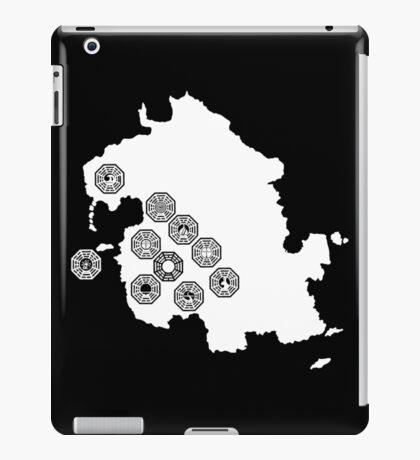 DHARMA Station Map iPad Case/Skin
