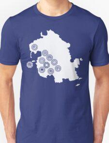 DHARMA Station Map Unisex T-Shirt