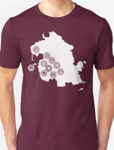 DHARMA Station Map Unisex T-Shirt