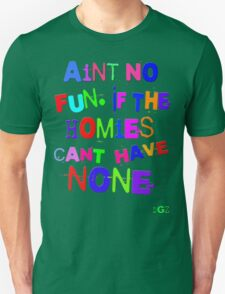 Aint No Fun Unisex T-Shirt