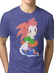 Amy Rose The Hedgehog Tri-blend T-Shirt