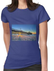 Sunrise at Apache Pier Womens Fitted T-Shirt