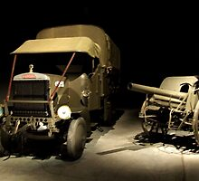 Leyland truck - War Memorial Canberra by SharonD