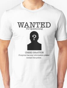 Wanted Creed Bratton (the Office US) T-Shirt