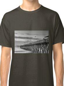 2nd Ave Pier black & White_1 Classic T-Shirt
