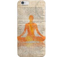Yoga Book, The twelfth lesson, MANGO iPhone Case/Skin