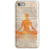 Yoga Book, The twelfth lesson, MANGO iPhone Case/Skin